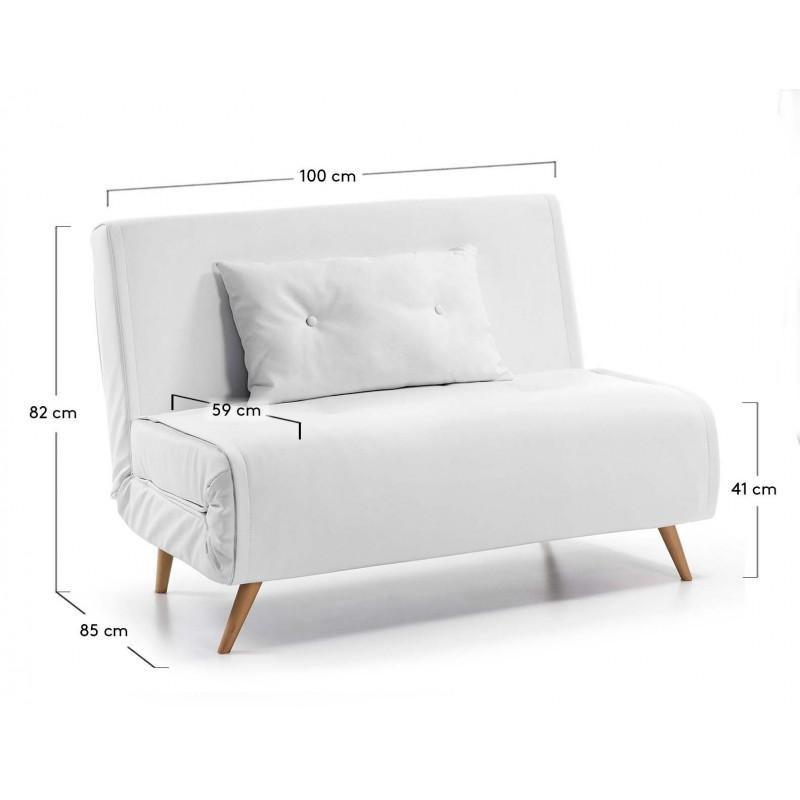 Sof cama tupana clic clac con posici n relax y asiento for Sofa cama extensible