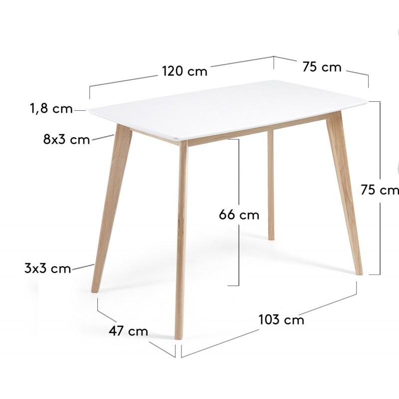 Mesa de estilo nordico unit hogarterapia com for Mesa comedor estilo nordico