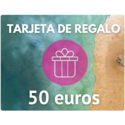 TARJETA DE REGALO DE 50 EUROS