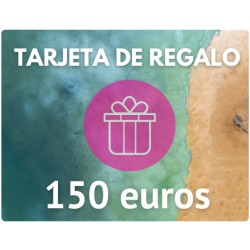 TARJETA DE REGALO DE 150 EUROS