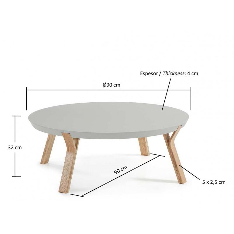Mesa de centro redonda solid hogarterapia com - Mesa centro redonda ...