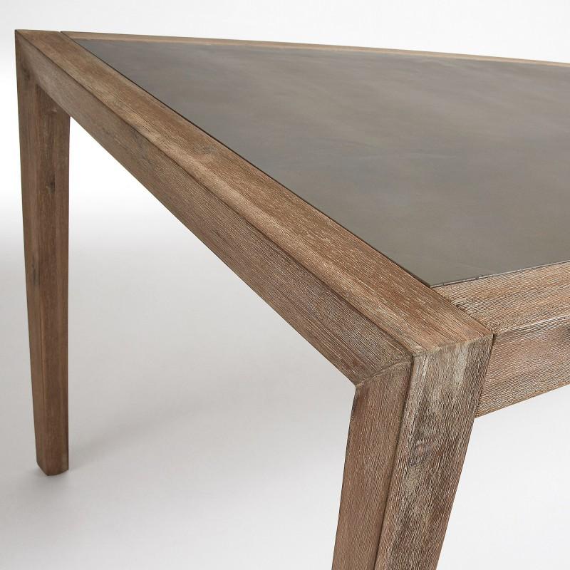 Mesa corvette de madera de acacia hogarterapia com - Mesas de madera exterior ...