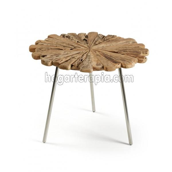 Mesas de teca naturalidad y elegancia - Mesa de teca ...