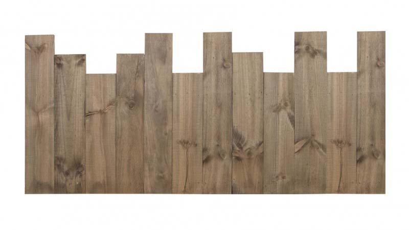 Cabecero de lamas verticales asimetricas