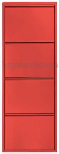 Rojo 4 puertas