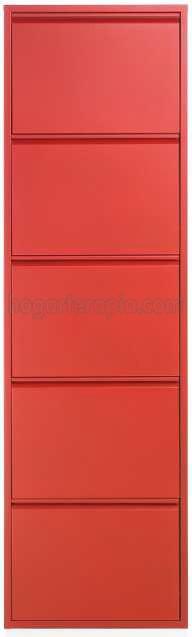 Rojo 5 puertas