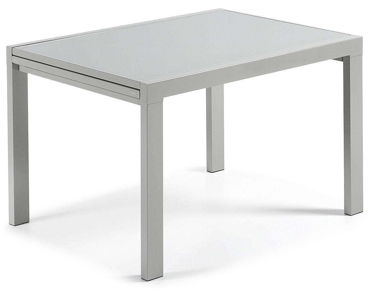 Mesa extensible anja de cristal templado hogarterapia com for Mesa cristal 120