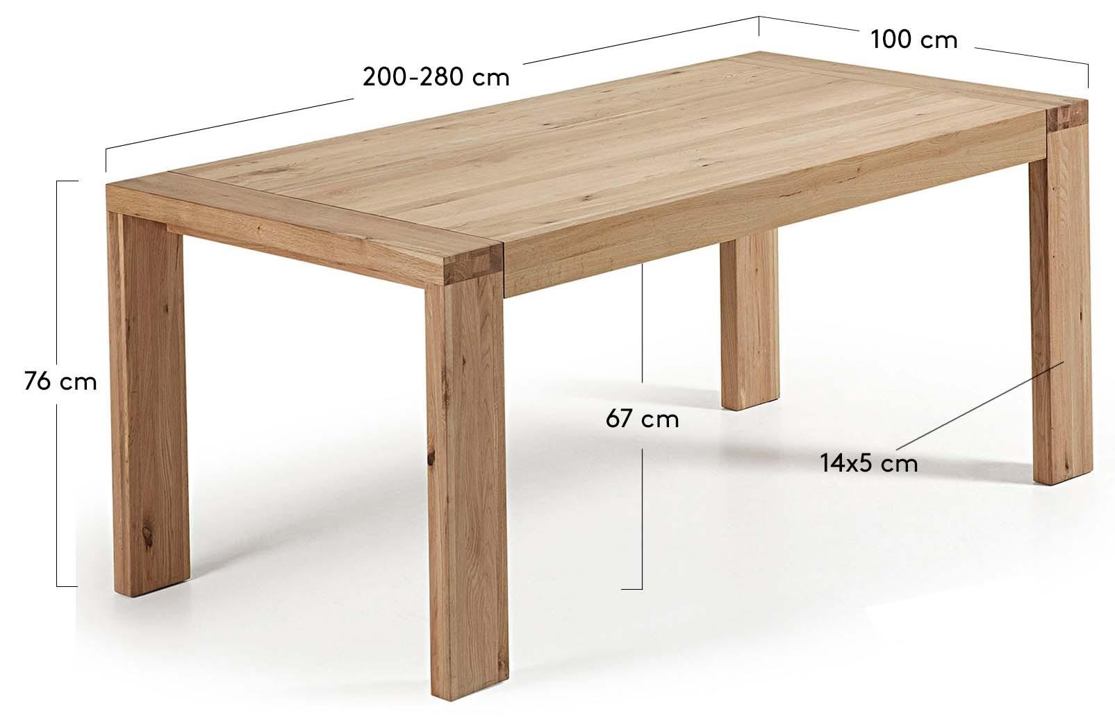 Natural 200-280x100 cm.