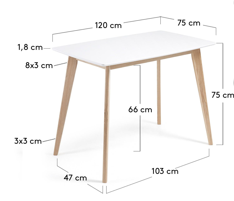 120 x 75 cm.